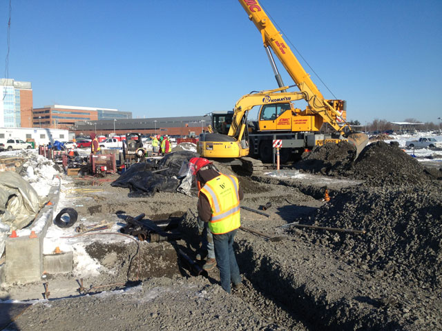 Excavation Services provided by CMS at Children's Hospital of Philadelphia