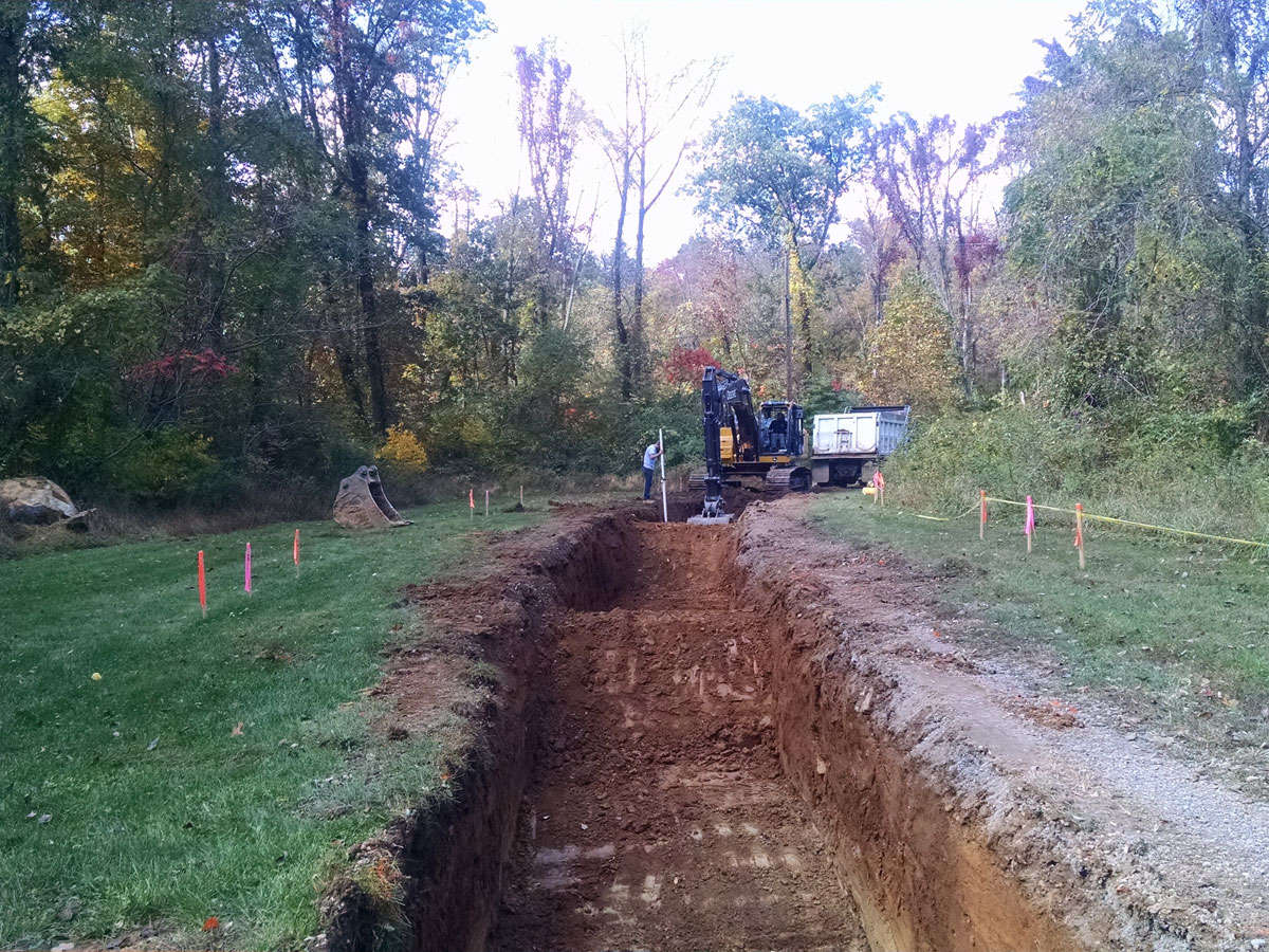West Shore Sportsman's Association Post-Construction Stormwater Management and Infiltration Solutions completed by CMS