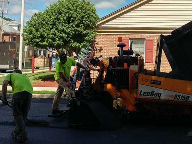 Municipal Road Paving by Construction Masters Services