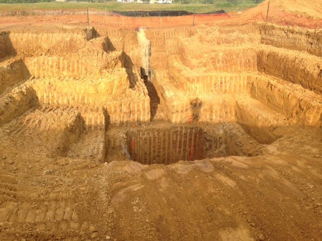 Wet Well Excavation by Construction Masters Services