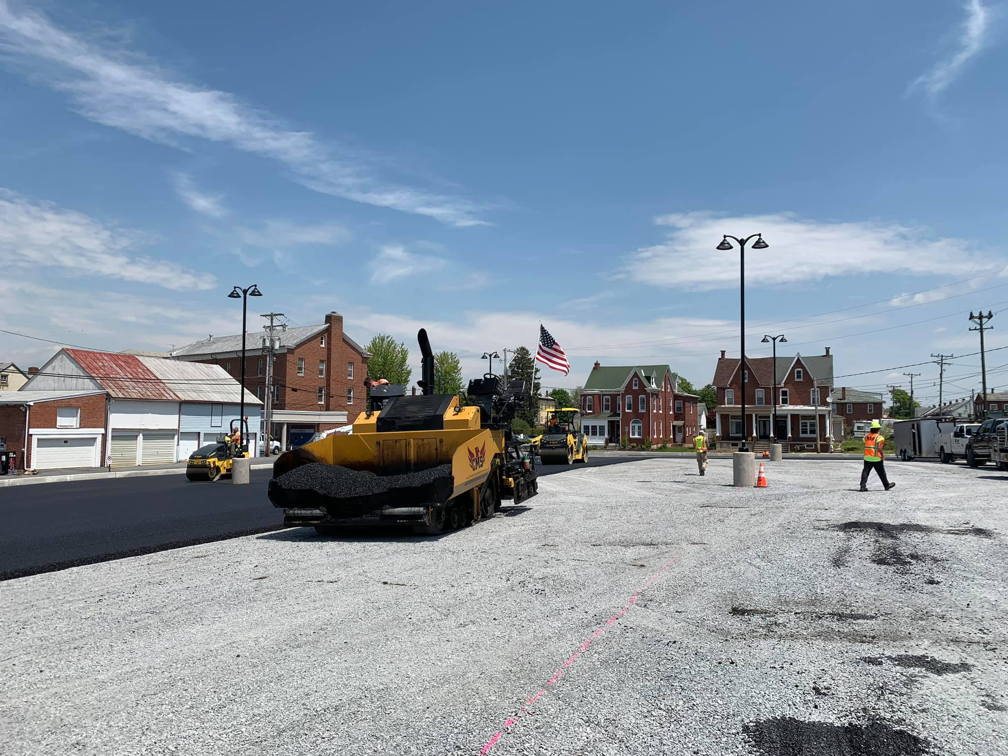 Construction Masters Services Municipal Road Paving in Fleetwood, Pennsylvania