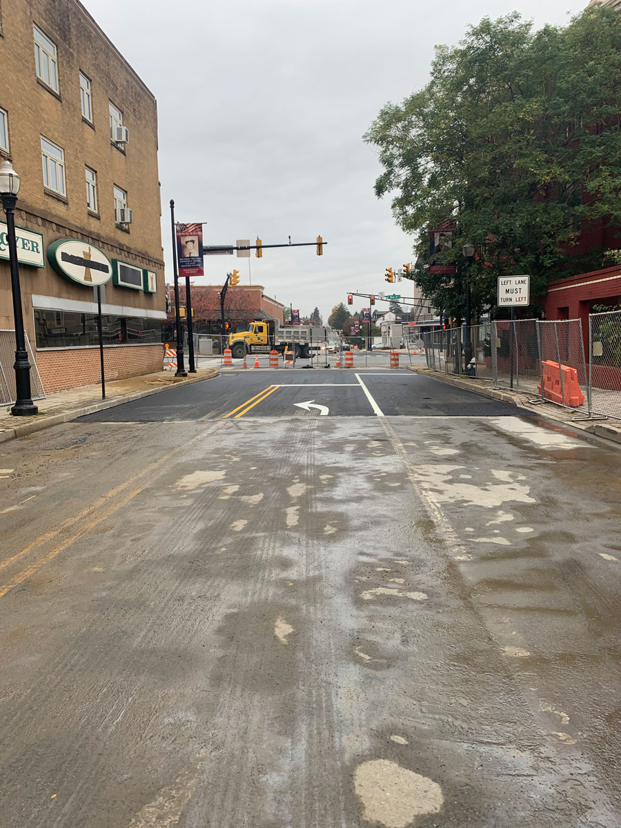 Ephrata Water Main Repair and Paving by CMS