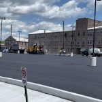 Fleetwood Lot Paving and Concrete work by CMS in 2020